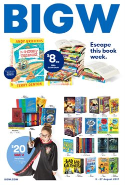 Offers from BIG W in the Perth WA catalogue