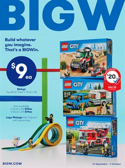 Offers from BIG W in the Melbourne VIC catalogue