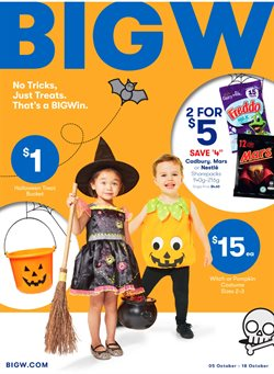Offers from BIG W in the Rockingham WA catalogue
