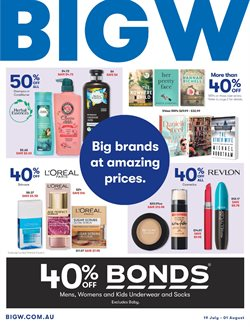 Offers from BIG W in the Canberra ACT catalogue