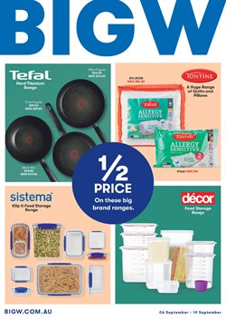 Offers from BIG W in the Yeppoon QLD catalogue