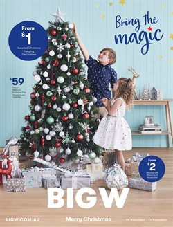 Offers from BIG W in the Brisbane QLD catalogue