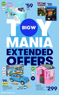 Department Stores offers in the BIG W catalogue in Adelaide SA