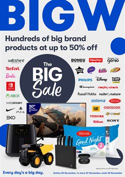 BIG W catalogue ( 3 days left )