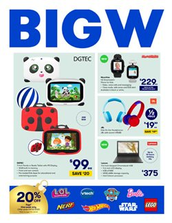 BIG W catalogue ( 2 days ago )