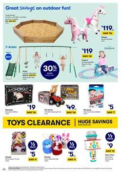 Department Stores offers in the BIG W catalogue ( 5 days left )