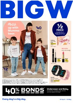 Mother's day specials in the BIG W catalogue ( 6 days left)