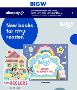 BIG W catalogue ( Published today)