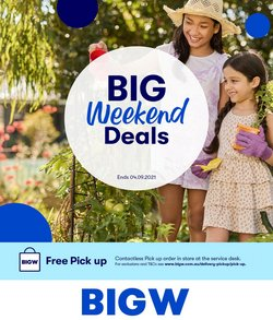 BIG W specials in the BIG W catalogue ( Expired)