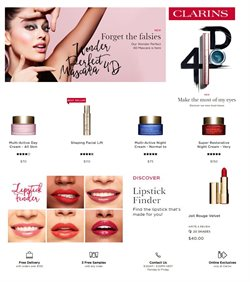 Pharmacy, Beauty & Health offers in the Clarins catalogue in Sydney NSW