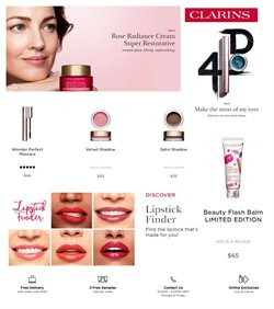 Pharmacy, Beauty & Health offers in the Clarins catalogue in Adelaide SA