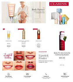 Clarins catalogue ( 6 days left )