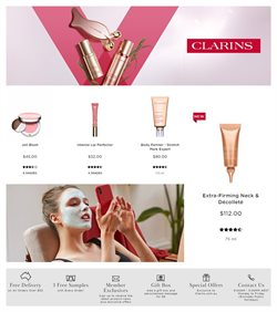 Clarins catalogue ( 1 day ago )