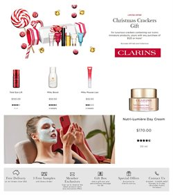 Pharmacy, Beauty & Health offers in the Clarins catalogue in Sydney NSW ( 24 days left )