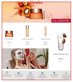 Clarins catalogue ( Expires today )