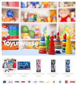 Toy Universe catalogue ( 1 day ago )
