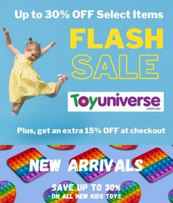 Kids, Toys & Babies specials in the Toy Universe catalogue ( 16 days left)