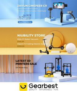 Electronics & Appliances specials in the Gear Best catalogue ( 28 days left)