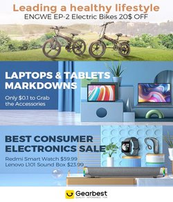 Electronics & Appliances specials in the Gear Best catalogue ( 11 days left)