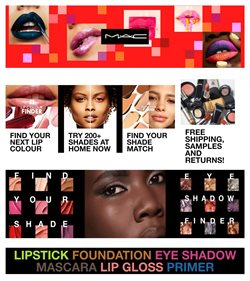 Mac Cosmetics catalogue ( 22 days left )