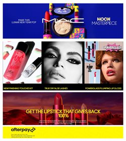 Mac Cosmetics catalogue ( 26 days left )