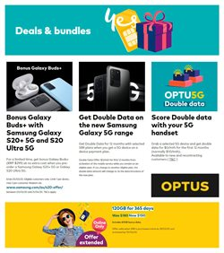 Optus catalogue in Sydney NSW ( More than one month )