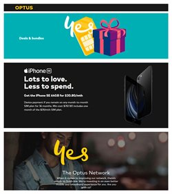 Optus catalogue in Mudgee NSW ( 4 days left )