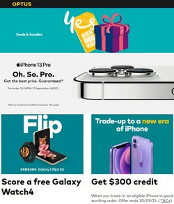Optus specials in the Optus catalogue ( 8 days left)