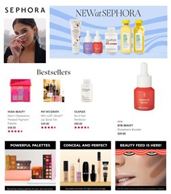 Offers from Sephora in the Sydney NSW catalogue