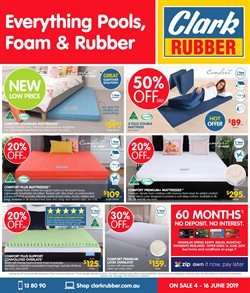 Clark Rubber In Sydney Catalogues Amp Sale Weekly