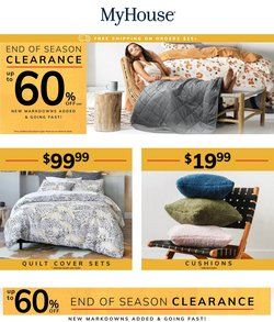 MyHouse specials in the MyHouse catalogue ( 7 days left)