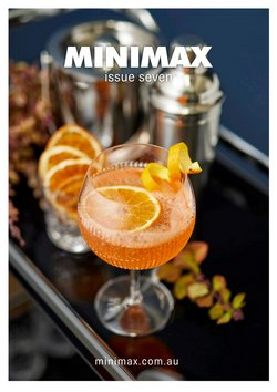 Minimax specials in the Minimax catalogue ( More than one month)