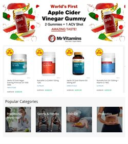Offers from Mr Vitamins in the Sydney NSW catalogue
