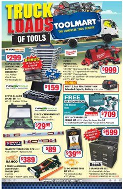 Toolmart catalogue ( More than one month )