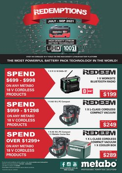 Toolmart specials in the Toolmart catalogue ( More than one month)