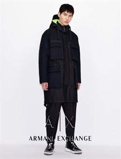 Armani Exchange catalogue ( More than one month )