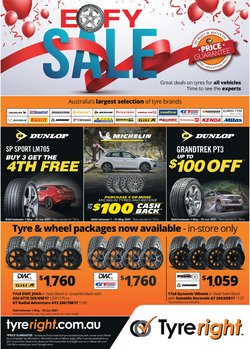 Tyreright specials in the Tyreright catalogue ( Expired)