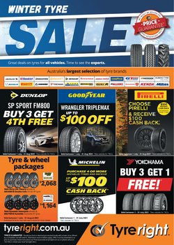 Tyreright specials in the Tyreright catalogue ( More than one month)