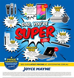 Offers from Joyce Mayne in the Sunshine Coast QLD catalogue
