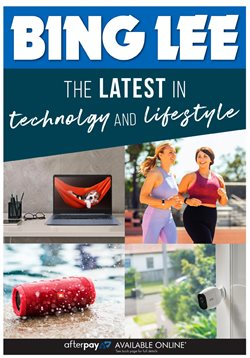 Electronics & Appliances offers in the Bing Lee catalogue in Bowral NSW