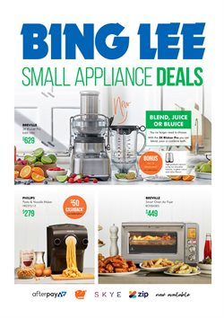 Offers from Bing Lee in the Blacktown NSW catalogue
