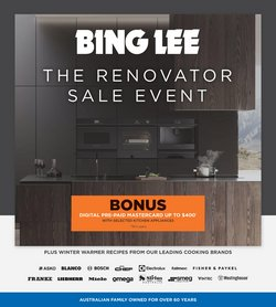 Electronics & Appliances specials in the Bing Lee catalogue ( 1 day ago)