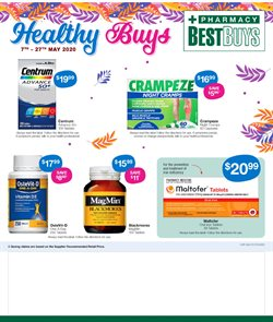 Pharmacy Best Buys catalogue in Sydney NSW ( Expires tomorrow )