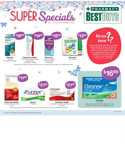 Pharmacy Best Buys catalogue ( 4 days left )