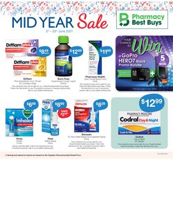 Pharmacy, Beauty & Health specials in the Pharmacy Best Buys catalogue ( 4 days left)