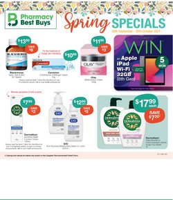 Pharmacy, Beauty & Health specials in the Pharmacy Best Buys catalogue ( Expires today)