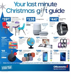Offers from Officeworks in the Melbourne VIC catalogue