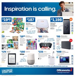 Electronics & Appliances offers in the Officeworks catalogue in Mandurah WA
