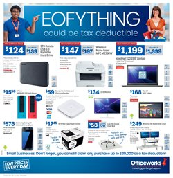 Electronics & Appliances offers in the Officeworks catalogue in Canberra ACT