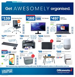 Offers from Officeworks in the Perth WA catalogue